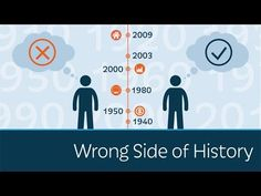 """Are you on the wrong side or the right side of history? Is there even a """"wrong side"""" or a """"right side""""? What do those terms mean and why do politicians and p..."""