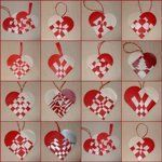 Do It Yourself: Danish Heart Ornaments | Apartment Therapy