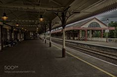 Waiting for the train by ZsoltHuszr