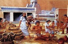Tenochtitlan: 8 Things You Didn't Know About The Aztec Floating City that Rivaled Venice Aztec City, Aztec Empire, Aztec Culture, Mesoamerican, Inca, Conquistador, Capital City, Montezuma, Ancient Aztecs