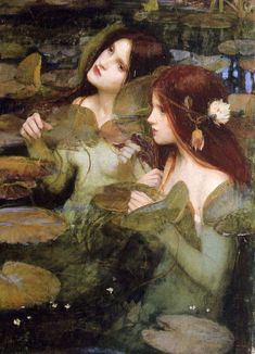 John William Waterhouse [English Pre-Raphaelite painter, Oil on canvas, x cm Manchester City Galleries, England John William Waterhouse, John William Godward, Renaissance Kunst, Renaissance Paintings, Italian Renaissance, Gustav Klimt, Michael Lang, Pre Raphaelite Paintings, Frank Dicksee