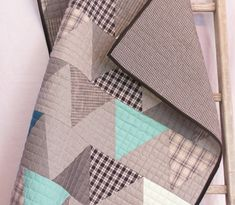 Hey, I found this really awesome Etsy listing at https://www.etsy.com/listing/176300248/modern-baby-quilt-baby-quilt-baby