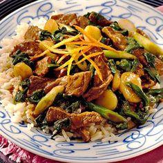 orange-beef stir-fry | Quick Recipes & Kitchen Tips