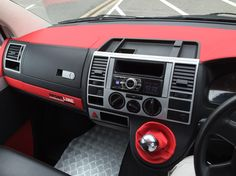 Vw T5 Dash Re Trim Finishing Touches. www.dubz4hire.com