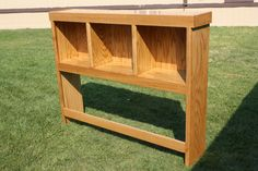 Bookcase Headboard Woodworking Plans - WoodWorking Projects & Plans