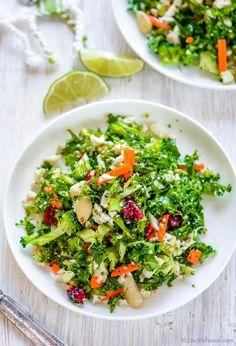 Cauliflower and Broccoli Detox Salad Recipe   ChefDeHome.com