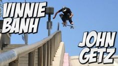VINNIE BANH AND JOHN GETZ AMAZING SKATE DAY !!! – A DAY WITH NKA – Nka Vids Skateboarding: Source: nigel alexander