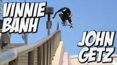 VINNIE BANH AND JOHN GETZ AMAZING SKATE DAY !!! – A DAY WITH NKA – Nka Vids Skateboarding: Source: nigel alexander