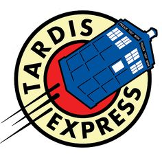 Tardis Express Futurama Doctor Who