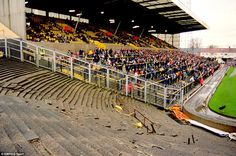 Pictures of old stadiums - Page 3 - Other Football Hull City, Terrace, City Photo, Basketball Court, Football, Park, Sports, Pictures, Cathedrals