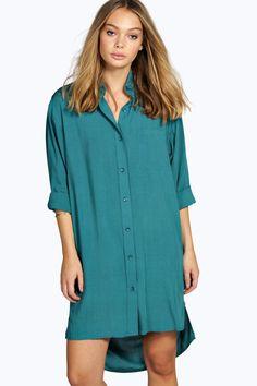 Olga Oversized Shirt Dress