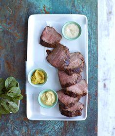 Marinated Roast Beef with Mustard  #Recipe #Kikkoman