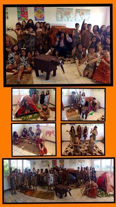 UNGA MUNGA!!! Una mañana en la escuela acompañado de estos traviesos cavernícolas!!! 24/10/14