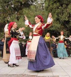Κρητικής μουσικής και το χορευτικό της «Ιδαίας Γης». Folk Clothing, Greek Clothing, Greek Costumes, Dance Costumes, Greek Apparel, Folk Dance, Folk Costume, Little Miss, Crete