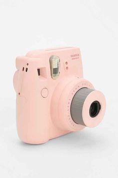 pink camera.