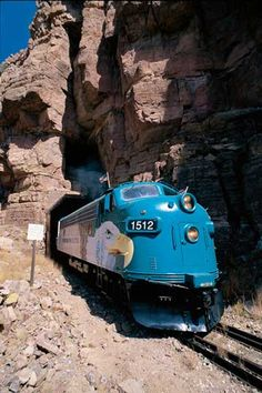 The Verde Canyon Railroad, Verde Valley, AZ.