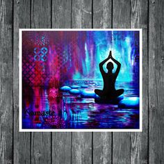 New Yoga Art Painting Inspiration Namaste Ideas Yoga Painting, Painting Prints, Fine Art Prints, Acrylic Paintings, Art Paintings, Yoga Kunst, Namaste Art, Diana, Expressive Art
