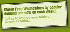 Gluten Free Wednesday
