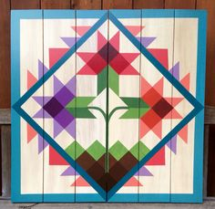 Barn Quilt Patterns for Quilts - Bing images Barn Quilt Designs, Barn Quilt Patterns, Pattern Blocks, Quilting Designs, Pattern Ideas, Quilting Patterns, Quilting Ideas, Painted Barn Quilts, Barn Signs