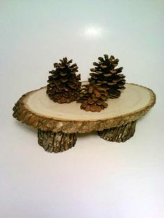 Rustic Wedding Cake Stand Primitive Wedding by DeerwoodCreekGifts, $40.00