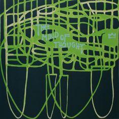 Marika Mäkelä: The mind of thought, serigrafia/litografia, cm, edition - Taidekeskus Salmela Modern Art, Contemporary Art, Finland, Architecture Design, Mindfulness, Deviantart, Thoughts, Artist, Prints