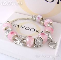 Pretty Pink Pandora Would Love To Have A Charm Bracelet One Day