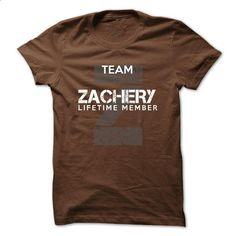 ZACHERY - TEAM ZACHERY LIFE TIME MEMBER LEGEND - shirt dress #Tshirt #personalized sweatshirts