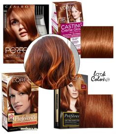 53 ideas hair highlights at home colour for 2019 Hair Dye Colors, Red Hair Color, Cool Hair Color, Ginger Hair Dyed, Dyed Red Hair, Best Copper Hair Dye, Auburn Hair Dye, Box Hair Dye, Light Red Hair