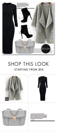 """Untitled #920"" by n-lejla ❤ liked on Polyvore featuring Relaxfeel, WithChic and Sam Edelman"
