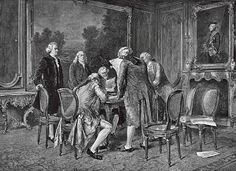 1783 - Treaty of Paris ends the war. The success of the American colonists against a European power increases the ambitions of those wishing for reform in France.