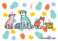 Dog Illustration, Christmas Illustration, Pet Branding, Doodle Sketch, Drawing Lessons, Creative Photos, Illustrations And Posters, Fun Prints, Dog Design