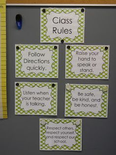"""I love how she tweaked the WBT rules. I never liked """"keep your dear teacher happy"""" and wanted a rule involving respect towards others."""