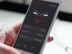 Car building app for Audi