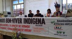 """Diante de grandes desafios sociais, das incertezas e dificuldades imposta pela situação da política indigenista brasileira, nos dias 20 e 21 de outubro de 2016, participamos em Araguaína, no Norte do Estado do Tocantins, do IV SEMINÁRIO: BEM VIVER INDÍGENA, que este ano debateu o tema: """"A mercantilização da natureza e os impactos das mudanças climáticas: novos paradigmas e a reafirmação dos direitos indígenas""""."""