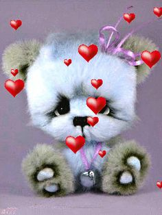 ads ads dear gif All gif playback time of shares varies according to your internet speed. Animiertes Gif, Animated Gif, Animated Heart, Gif Pictures, Cute Pictures, Tatty Teddy, Teddy Bear, Merci Gif, Bisous Gif