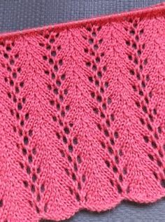 Lace Knitting Stitches, Lace Knitting Patterns, Easy Knitting, Stitch Patterns, Sewing Doll Clothes, Sewing Dolls, Free Pattern, Knit Crochet, Charts