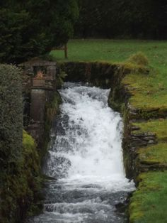 old mill race at Crook
