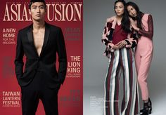Twisty Parallel Universe Jumpsuit featured in Asian Fusion Magazine
