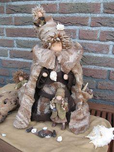 Amazing felted dolls by lindakl, via Flickr