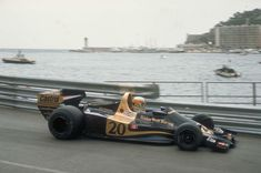 Jody Scheckter in the Wolf WR1 - Monaco 1977.