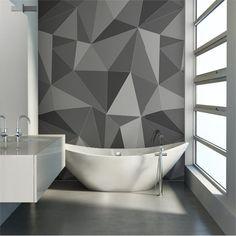 Diy Wall Art, Home Decor Wall Art, Room Decor, Bedroom Wall Designs, Accent Wall Bedroom, Room Wall Painting, House Painting, Wall Paint Inspiration, Geometric Wall Paint