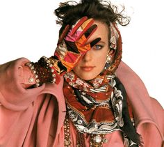 Valentino, Mirabella magazine, September 1989.