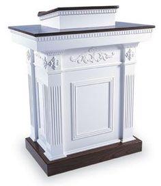 TSP-620 Wood Church Pulpit