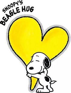 Snoopy hugs!