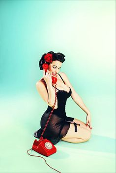 I love this pin-up series by Tejal Patni. #photography #pin-up #beautiful