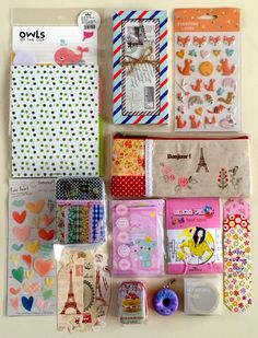 Lavender likes, loves, finds and dreams: 1st Blog Anniversary Giveaway 12: A lot of cute!
