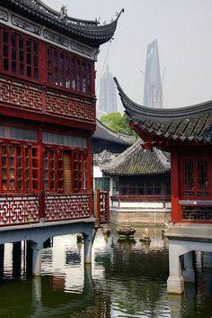 Yuyuan Gardens, Shanghai, China http://www.travelandtransitions.com/destinations/destination-advice/asia/shanghai-china-shanghai-expo-the-bund-yu-garden-and-beyond/ China Hong Kong, China Travel, Vietnam, Places To Travel, China Vacation, The Bund, Hangzhou, Exotic Places, Mongolia