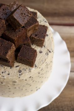 Whisk Kid: Fit - {Half Baked Fudge Brownie & Cookie Dough Cake}-sounds like the milk shake I like at Arctic Circle.