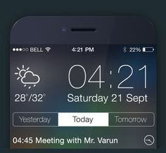 iOS 7 Reminder App - 6 Different Themes