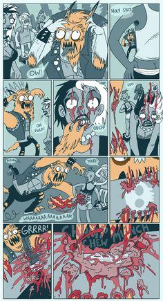 Hattie Flattener Presents... || Comics - Full Moon2